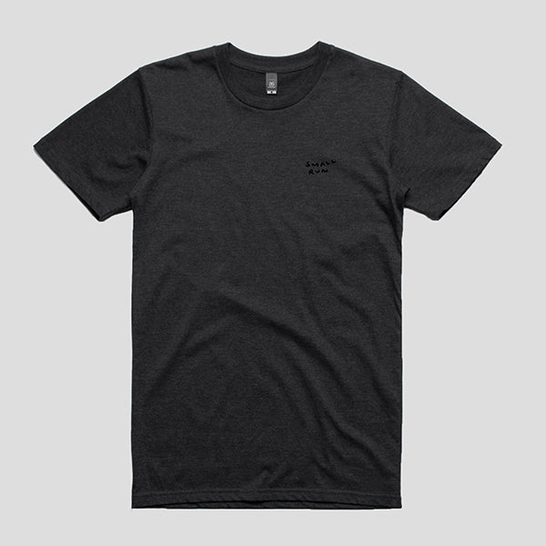 Small Run Dachshund Tee - Dark Grey T-shirt