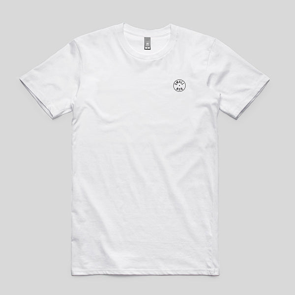 Small Run - White T-shirt