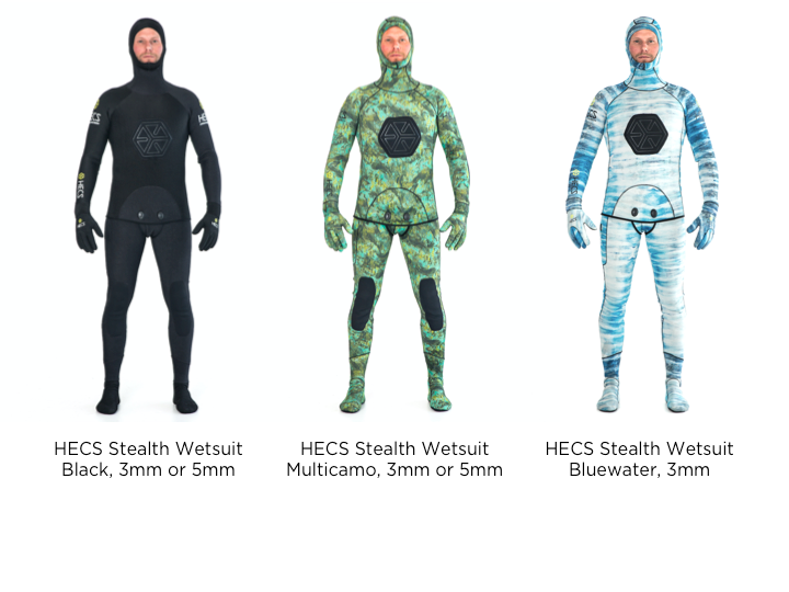 HECS Stealth Wetsuits