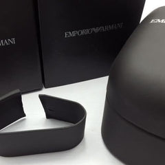 Emporio Armani Men's Chronograph Watch AR5878 Black Silicon Strap