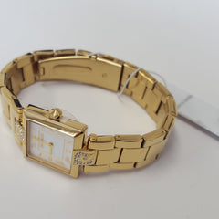 Ladies Elegant Gold Coloured Luxury Watch by Pierre Cardin PC105812F03