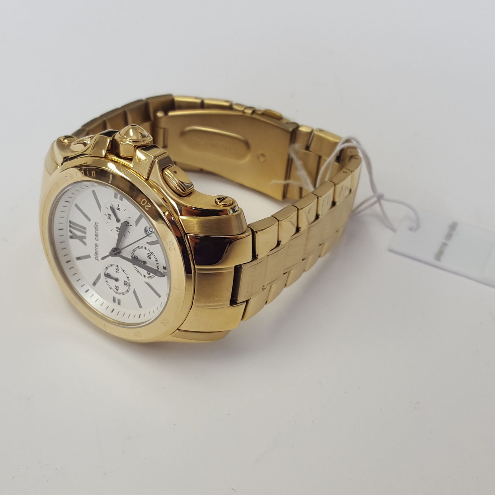 mens luxury gold coloured prince fashion watch by pierre cardin mens luxury gold coloured prince fashion watch by pierre cardin pc104291f08