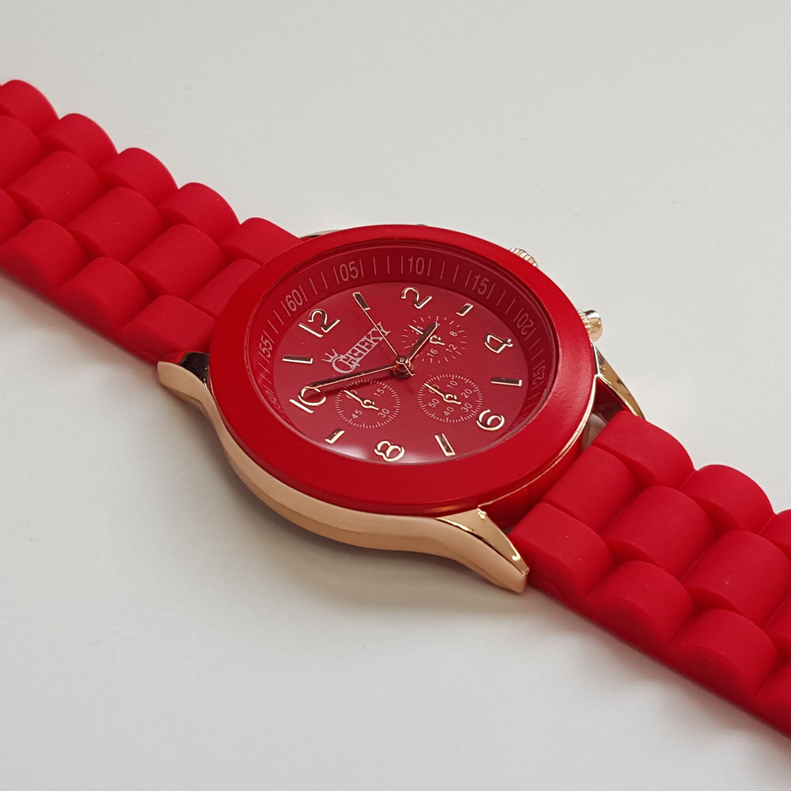 stylish mens red silicone w rose gold fashion watch by cheeky he stylish mens red silicone w rose gold fashion watch by cheeky he 13