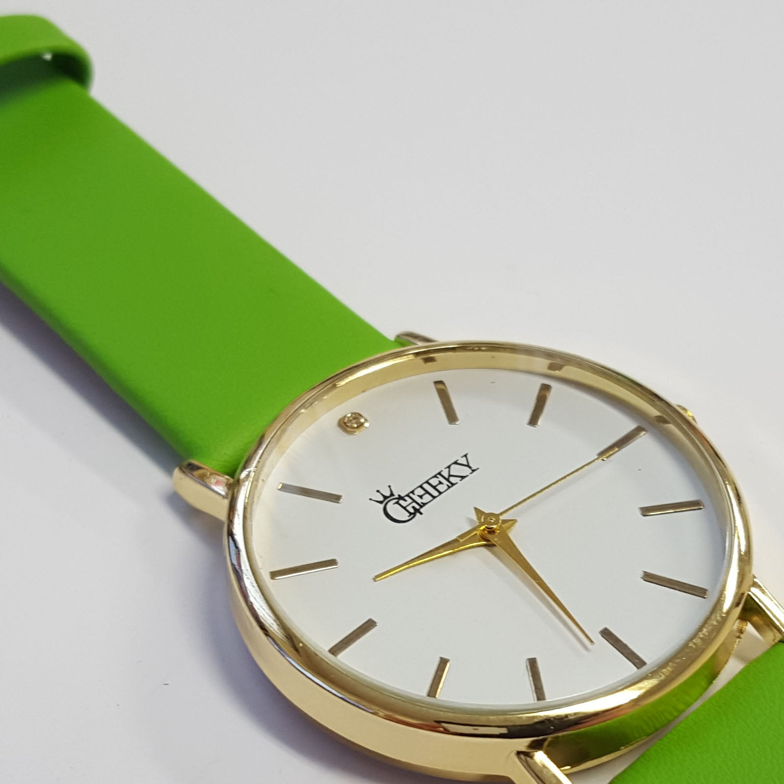 stainless gold product luxury watches customer steel strap satisfaction watch original green rose face