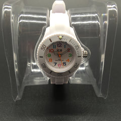Childrens ICE-Mini White Dial/ Colourful Numbers MN.WE.M.S.12
