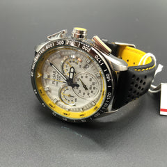 Gents PU2013 Pulsar Chronograph Leather Strap Sports Watch