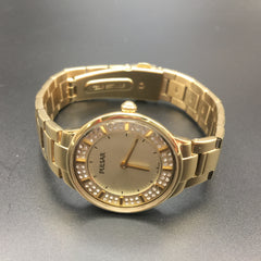 Pulsar Gold Plated Stainless Steel Woman's Watch PM2090