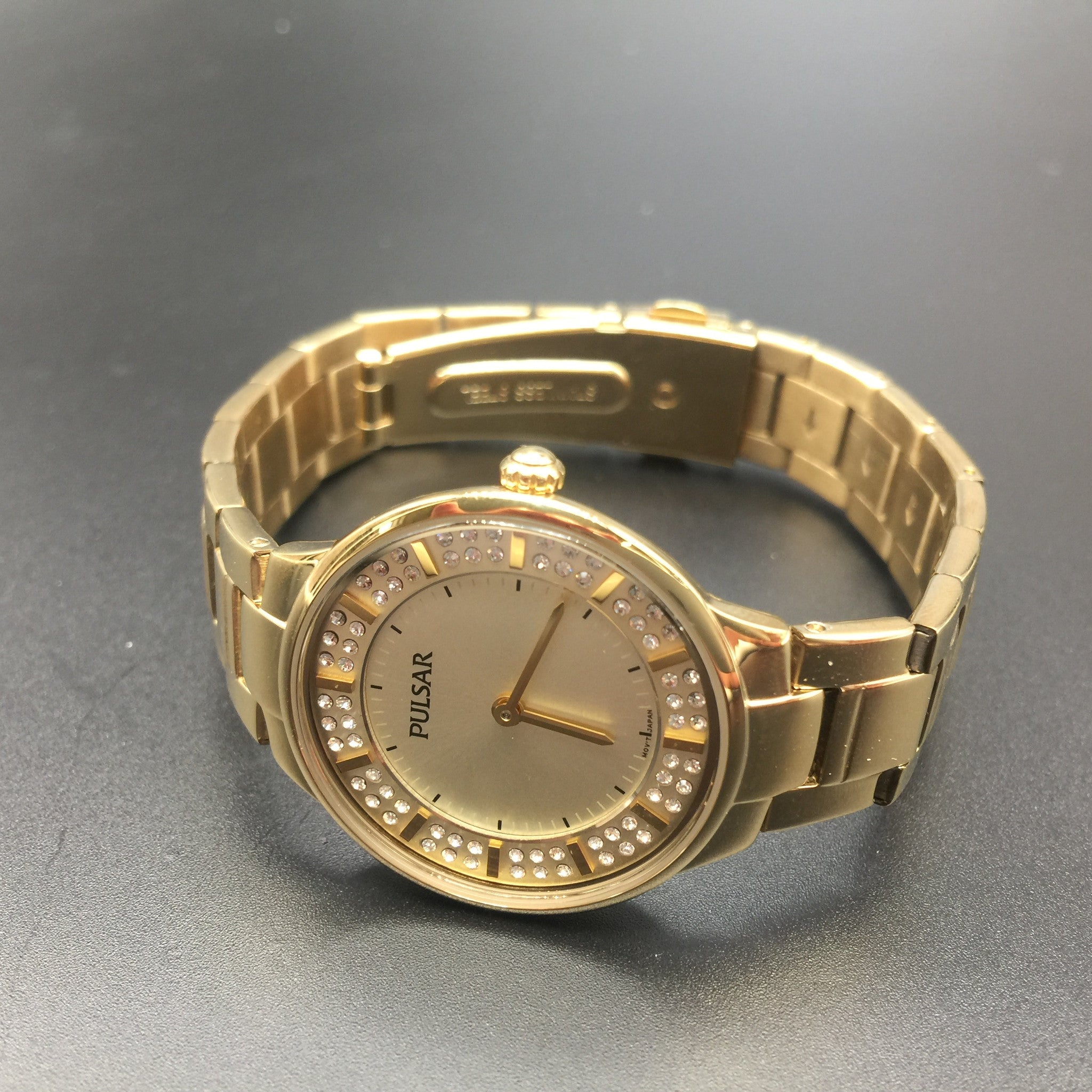 Ladies Pulsar Two Tone Gold and Silver Watch PM2098