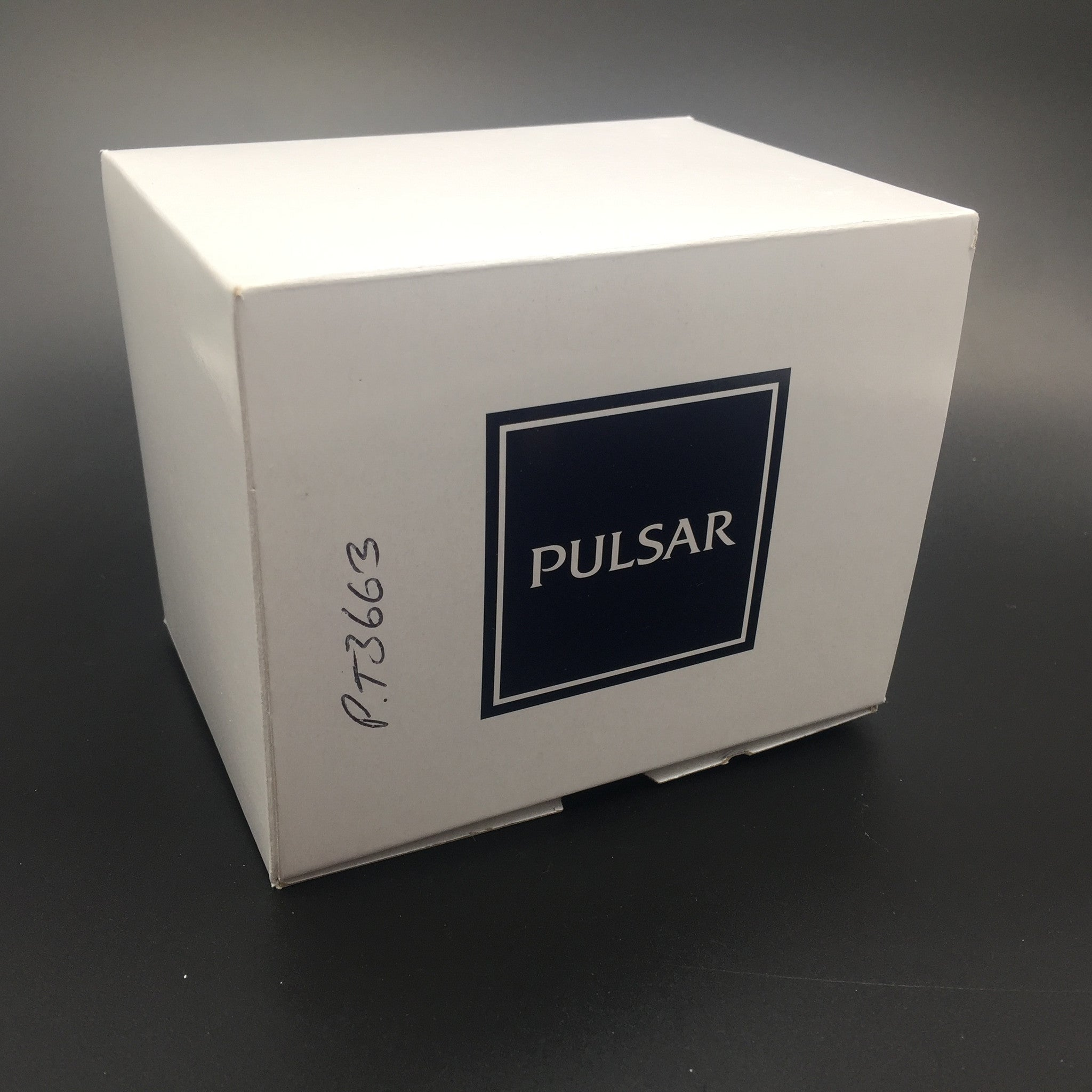 Pulsar Men's Silver Face Chronograph Watch PT3663