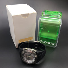 Lorus Men's Black Sports Watch R2329DX9