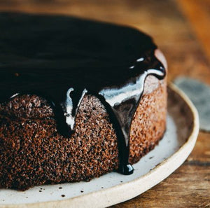 Chocolate cake without milk (Gluten Free)