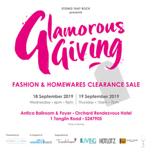 Glamorous Giving Clearance Sale! September 18th & 19th