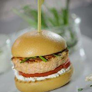 Salmon and Sesame Burgers Gluten Free