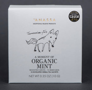 Anassa Organic Greek Mint Herbal Tea  x 10 Sachets