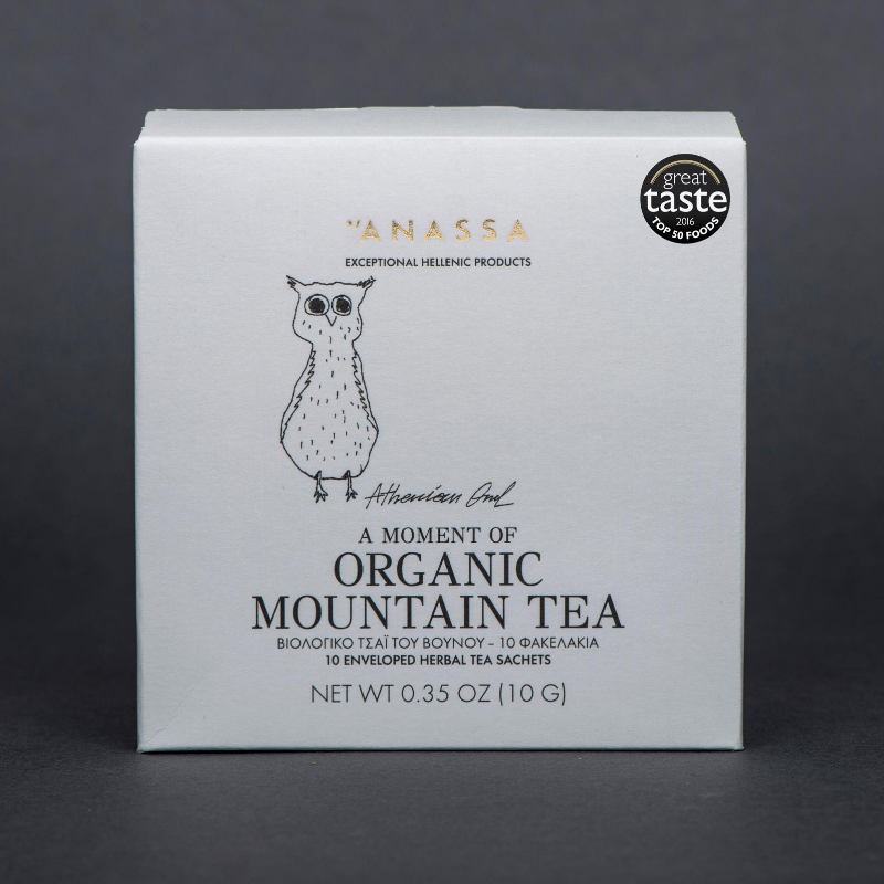 Anassa Organic Greek Mountain Tea x 10 Sachets