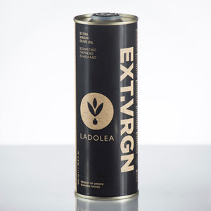 Ladolea Greek Extra Virgin Olive Oil in Black Tin - 500ml