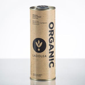 Ladolea Organic Greek Extra Virgin Olive Oil in a White Tin - 500ml