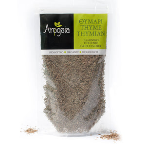 Arogaia Organic Greek Thyme in a resealable bag, 70gr