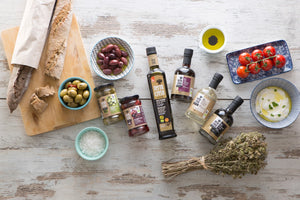 Terra Creta Marinated Mixed Greek Olives With Orange and Herbs - 290gr