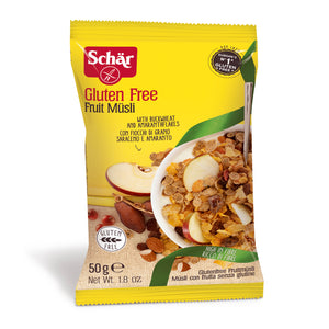 Dr. Schar Gluten Free Fruit Muesli Single Serve - 50gr