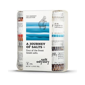 Salt Odyssey A Journey of Salts - Four of the Finest Greek Salts-Agora Products
