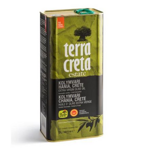 Terra Creta Estate Greek Extra Virgin Olive Oil PDO Kolymvari - 5L