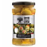 Load image into Gallery viewer, Terra Creta Greek Green Olives Stuffed with Peppers - 290gr
