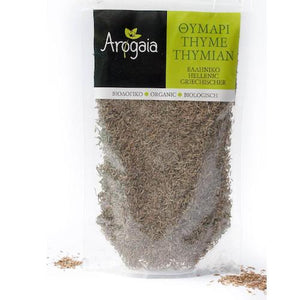 Arogaia Organic Thyme in a resealable bag-Agora Products