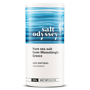 Salt Odyssey Fine Pure Greek Sea Salt - 260gr