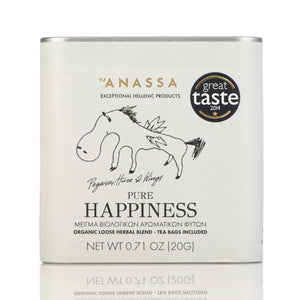 Anassa Organic Greek Pure Happiness Tea, (20 portions)