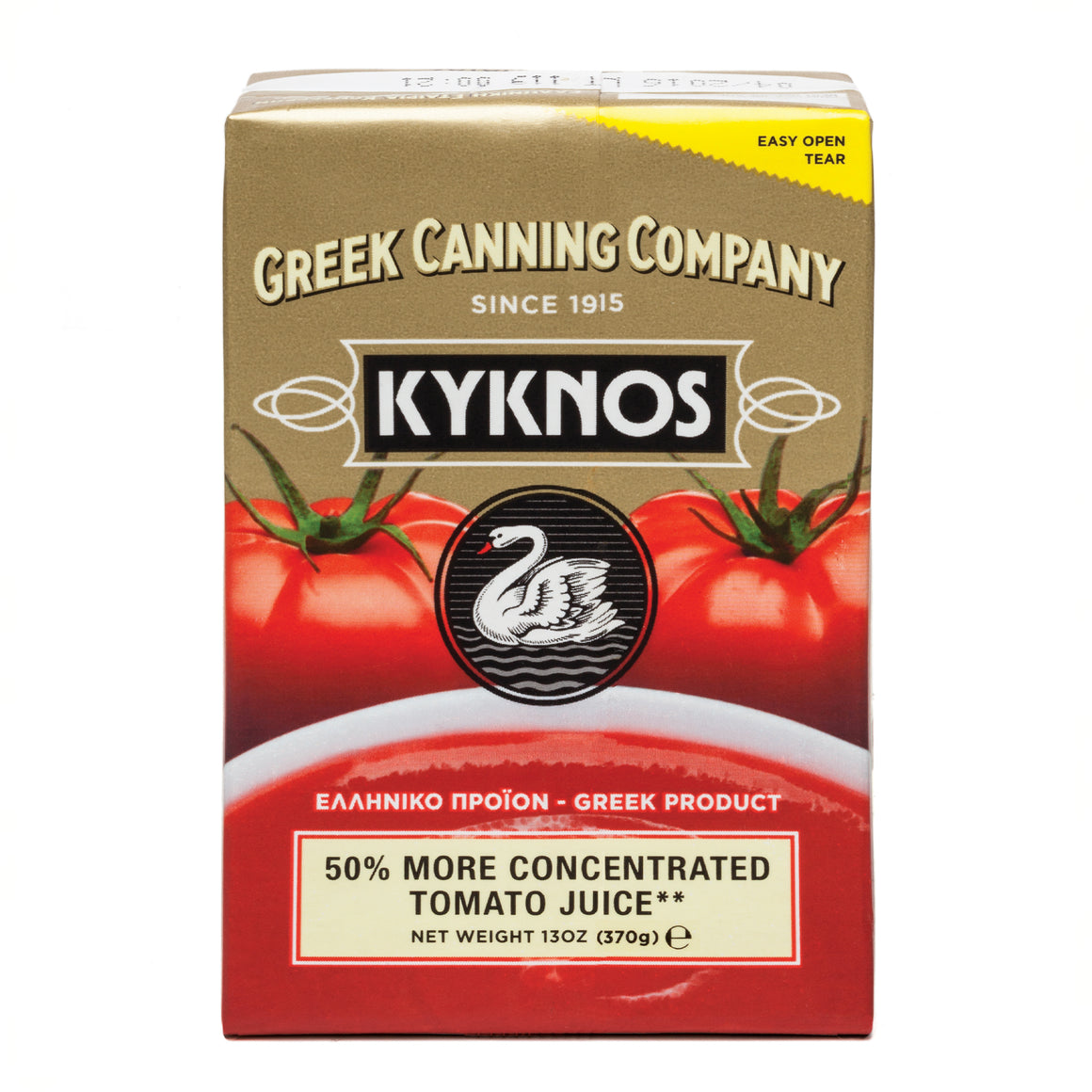 Kyknos 50% more concentrated Tomato Juice 370 gr