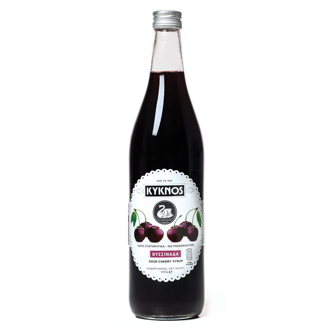 Kyknos Sour Cherry Syrup 900ml
