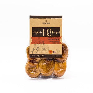 Askada Farm Organic Greek Sun-Dried Figs TO GO!-Agora Products