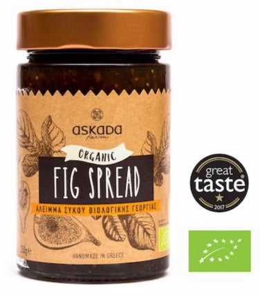 Askada Farm Organic Greek Fig Spread-Agora Products