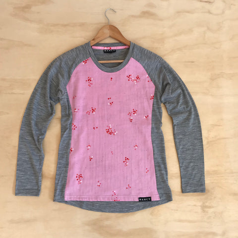 Blossom L/S Base Layer Lined
