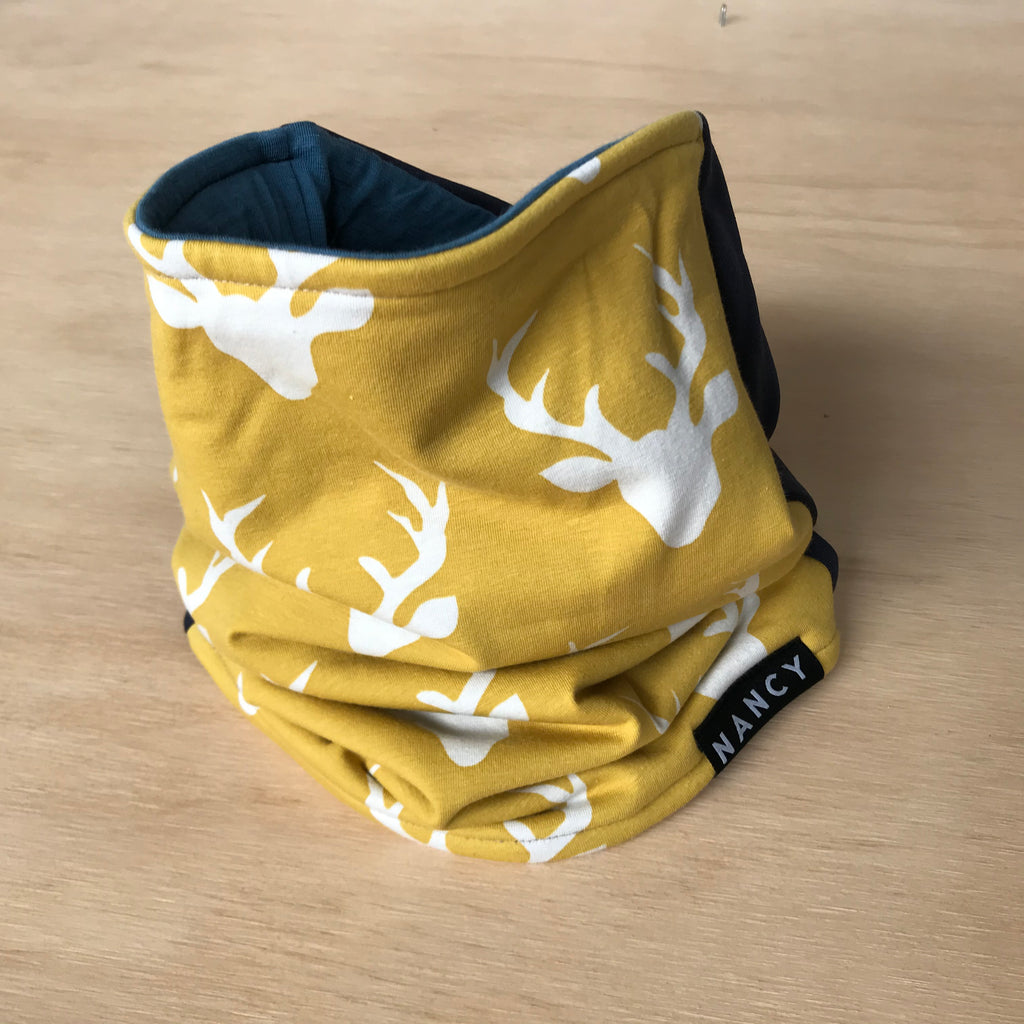 Neck Warmer - Gold Antler