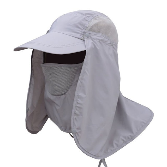 a939b21437be2 Bucket Hat With Face Cover