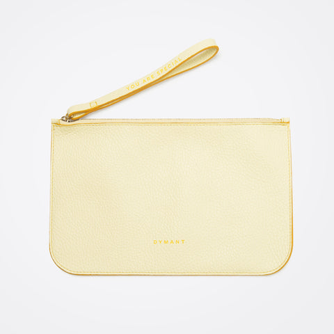 Perfect pochette - Soft Yellow