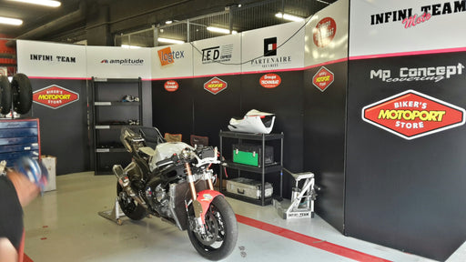24h de Barcelone 2017  : MotoPort France partenaire d'Infini Team