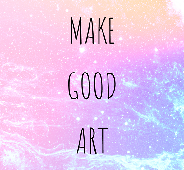 Make Good Art – Words of wisdom from Neil Gaiman
