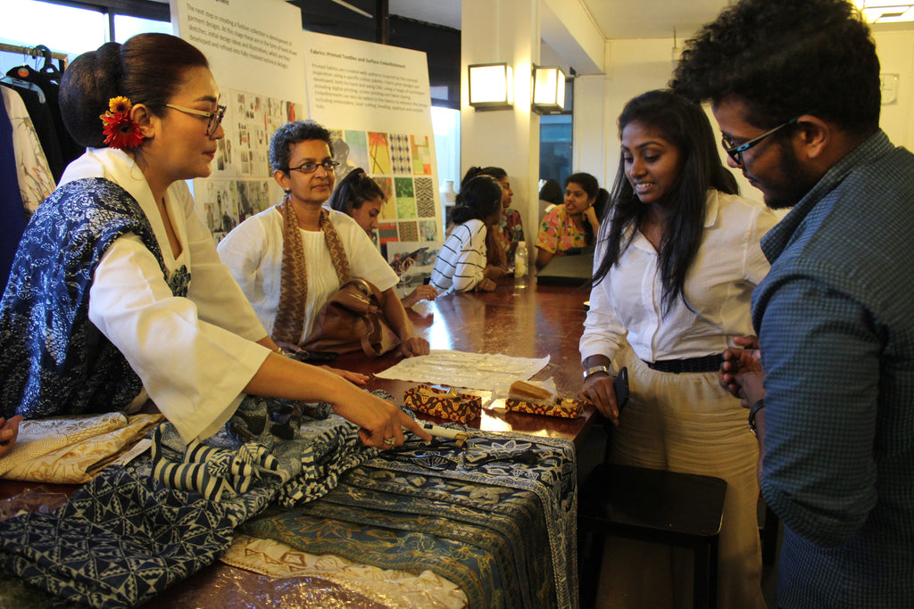 AOD welcomes visit by acclaimed Indonesian Batik Designers