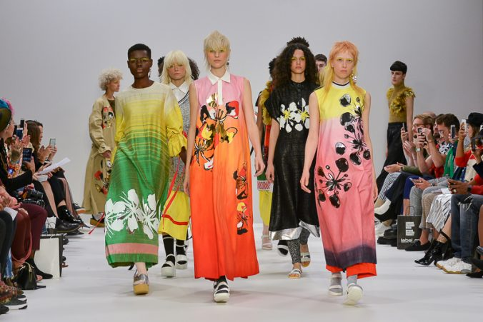 Amesh spring/summer 2018 collection catwalk show for LFW