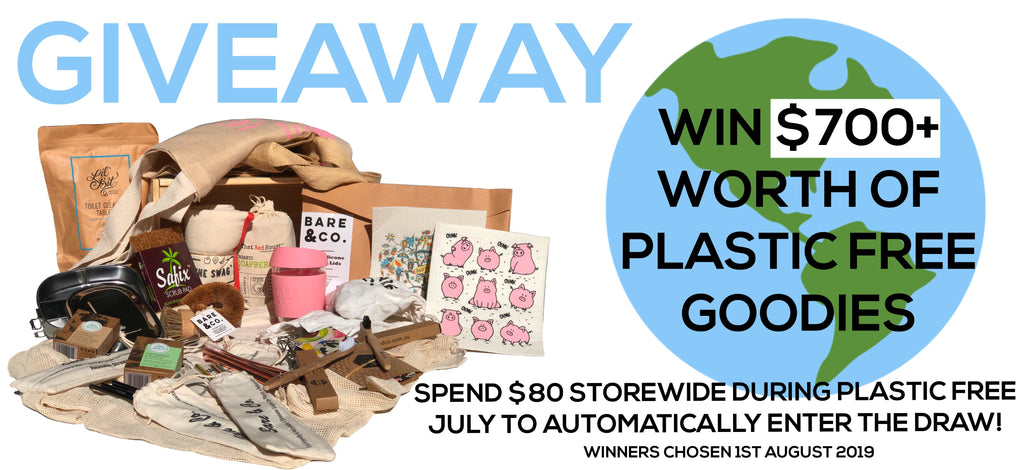 WIN A PLASTIC FREE PACK VALUED AT OVER $700!