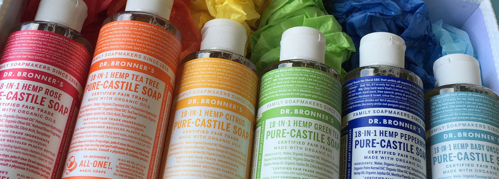 18 Ways You Can Use Dr Bronner's Castile Soap