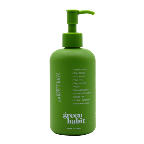 Green Habit - Clean Green Face Cleanser (200ml)