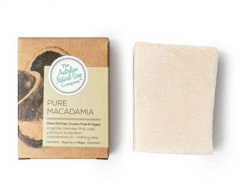 The Australian Natural Soap Company - Pure Macadamia Soap Bar (100g)