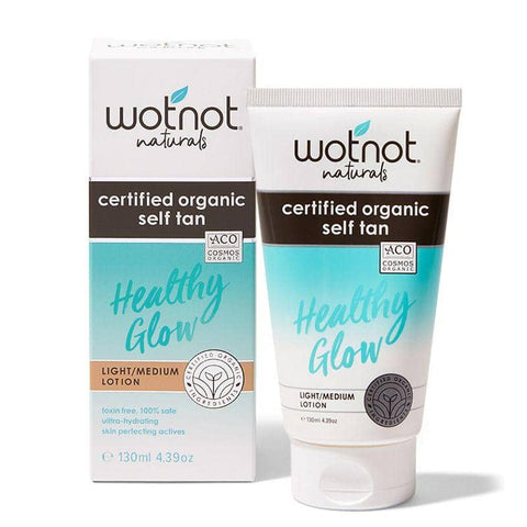 Wotnot - Certified Organic Self-Tan - Light/Medium Lotion (130ml)