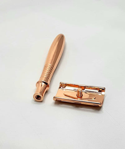 Bare & Co. - Traditional Double Edge Safety Razor - Rose Gold