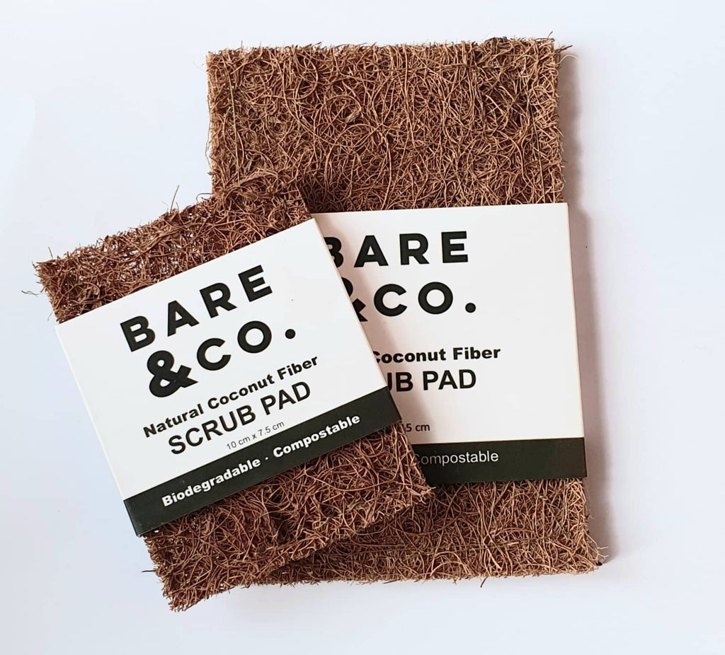 Bare & Co. - Coconut Scrub Pads - Twin Pack