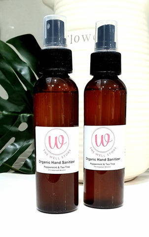The Well Store Hand Sanitizer Spray -  Peppermint 125ml